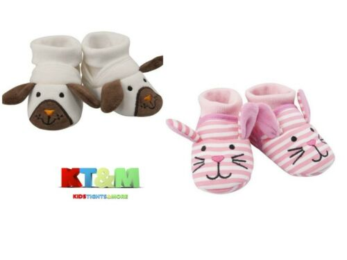 6-12m Baby Toddler Boy Girl Doggy Cat Warm  Slippers Shoes Booties Size 0-6m