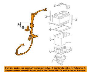 chevrolet gm oem 12 15 captiva sport battery cable 22757924 ebayimage is loading chevrolet gm oem 12 15 captiva sport battery