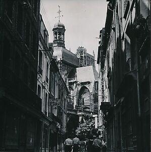 DIEPPE-c-1952-Rue-Commerces-L-039-Eglise-St-Jacques-Seine-Maritime-Div-10043