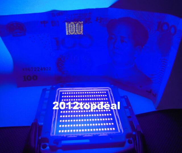 200W 45mil SMD High Power LED Ultra Violet UV 395NM + Blue 460nm UV:Blue 33-36V