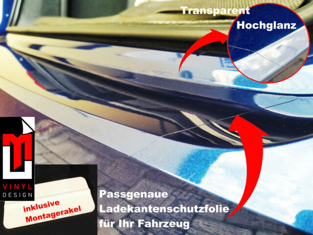 LACKSCHUTZFOLIE-LADEKANTENSCHUTZ FÜR MERCEDES CLA SHOOTINGBRAKE X117 ab`13-TRAN.