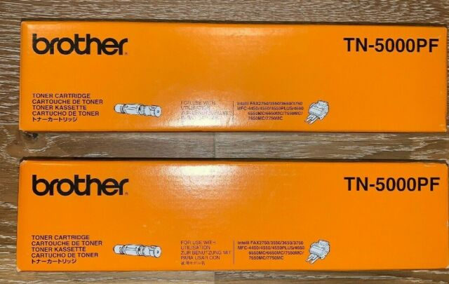 Brother TN-5000PF Toner Cartridge OEM MFC-4300 4450 4550 Plus Intelli Lot of 2