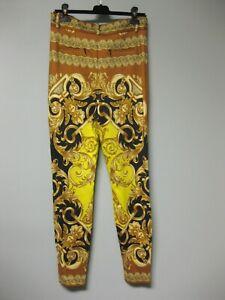 990-Versace-Baroque-Barocco-Femme-Print-Trousers-Legging-44-A83568-A231841A7048