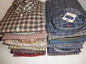 NWT-Saddlebred-Mens-Big-amp-Tall-Wrinkle-Free-Plaid-Shirt-2X-3X-4X-XLT-2XLT-3XLT