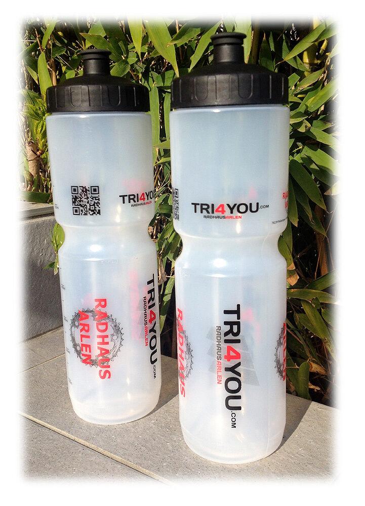Botella para beber clara de tri4you.com - - - 1,00 litros de contenido-envío exprés c8dc74