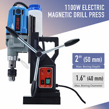 1100w Compac Electric Magnetic Drill Press Bores Up To 2 Deepamp16across Blue