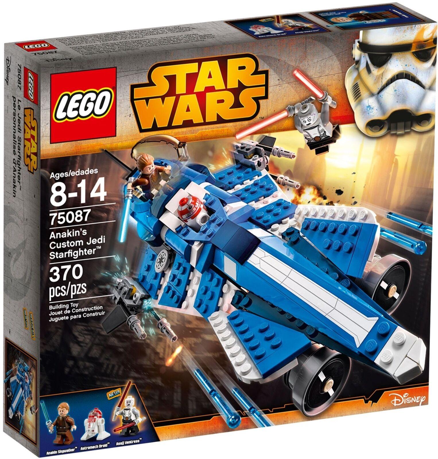 Lego ® star wars 75087-anakin 's custom custom custom jedi starfighter * retraité set-neuf * a8fe6b