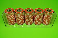 3 Poker Chip Trays - Casino Chip Racks - Each Tray Holds 100 Chips - Brand