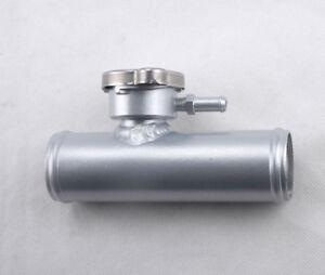 """38mm In Line Radiator Hose Filler Neck//Cap 1.5/"""" Hose Universal"""