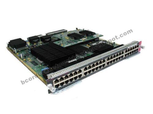 Cisco WS-X6748-GE-TX 10//100//1000 Gigabit Module w// WS-F6700-CFC 1 Year Warranty