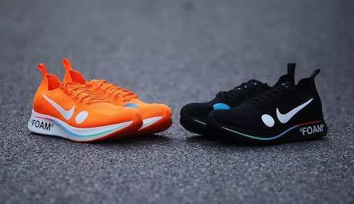 OFF-blanc ~ NIKE ZOOM FLY MERCURIAL orange from japan (4747