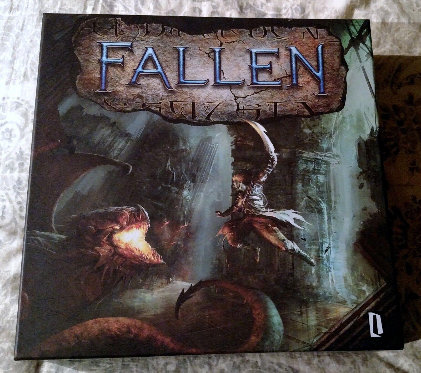 Fallen Juego de Mesa Kickstarter aventurero promesa Atalaya Juegos sin jugar