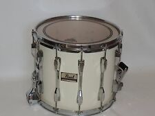 """Pearl 12 x  14"""" Marching Band Snare Drum White"""