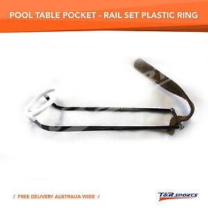 6x-English-Empire-BLACK-Rail-Pockets-for-Pool-Snooker-Billiard-Table-Free-Post