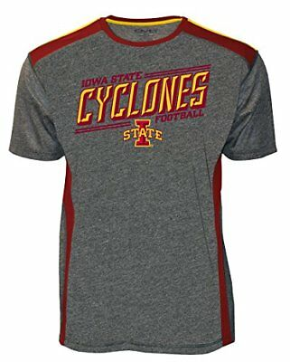 Old Varsity Brand NCAA Iowa State Cyclones Adult Men NCAA Iowa State Mens Scr...