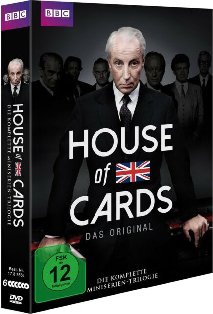 HOUSE OF CARDS - (1-3)DIE KOMPLETTE TRILOGIE  6 DVD NEW