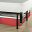 12 In Compact Bed Frame Box Spring Mattress Extra High Fit Twin Queen Full Easy