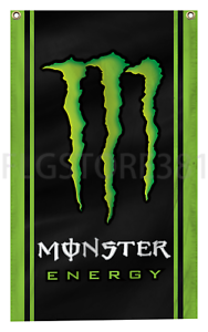 Monster-Energy-Drink-Flag-Banner-3X5Ft-Vrtical-Flag-Wall-Decor-Garage-Man-Cave