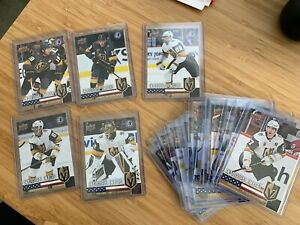 Vegas-Golden-Knights-Fleury-Inaugural-Upper-Deck-Set-with-SP-Chase-Cards