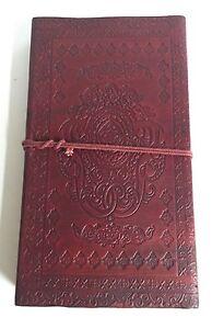Con-relieve-XL-Diario-de-piel-22-9x12-7cm-Camello-Cuaderno-Organizador