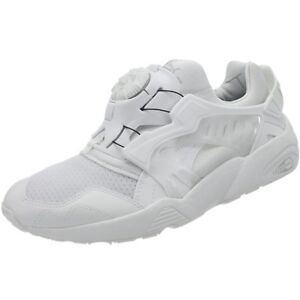 26292b193398 Puma Disc Blaze Updated Core men s low-top sneakers white casual ...