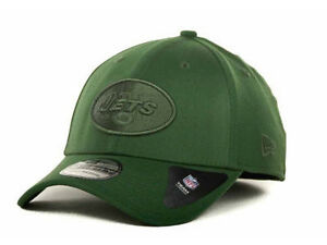 be74728bb92616 New York Jets Spring Stretch New Era 39Thirty NFL Green Tonal ...