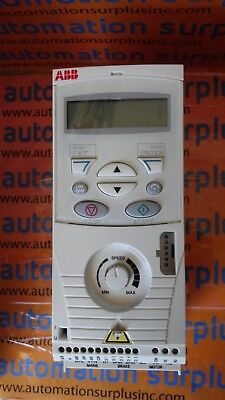 USED ABB ACS143-K75-1-U Variable Frequency Drive 0.5 HP