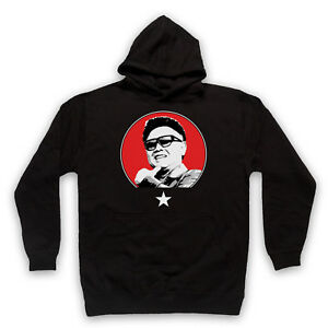 841dfea569d Details about KIM JONG-IL SUPREME LEADER NORTH KOREA UNOFFICIAL FUNNY  ADULTS & KIDS HOODIE