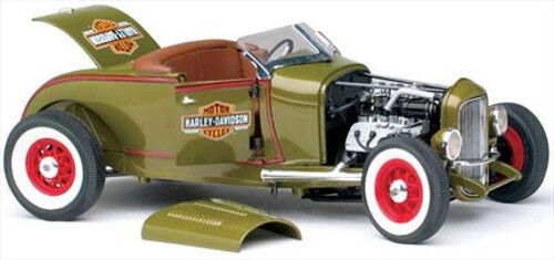 1 18 Highway 61   81045-1929 Ford Hot Rod  Harley Davidson Ed. - Neu Ovp Rareza