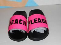 Victoria's Secret Pink Limited Edition 2017 Slides Beach Sandals Pink L/9-10