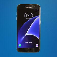 Fair - Samsung Galaxy S7 SM-G930a 32GB - Black Onyx (AT&T) SEE NOTES - Free Ship