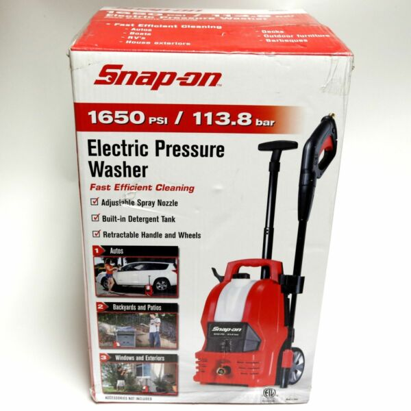 Snap On 1650 Psi Electric Pressure Washer 870905 Nib For Online Ebay