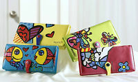 Romero Britto 4 Long Colored Wallets Choose One Or More Items