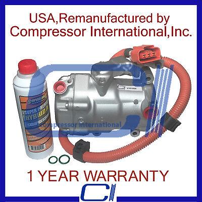 2004-2009 Toyota Prius 1.5L OEM A//C Compressor Reman One Year Wrty.