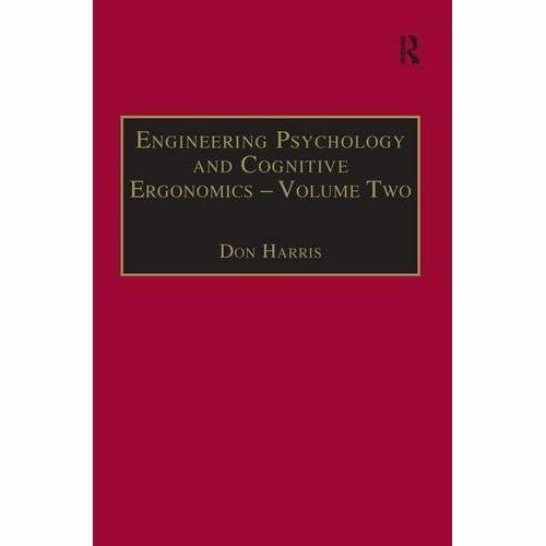 1 of 1 - Engineering Psychology and Cognitive Ergonomics: Job Design and Product Design v