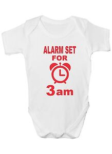 My Dad Thinks He/'s In Charge Funny Babygrow Onesie Gift 0-18 Months