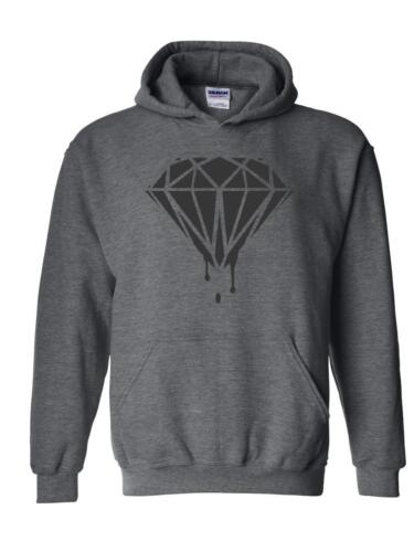 Black Diamond Matching Couples Bleeding Melting Unisex Hoodies Sweater