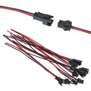 Kabel Steckverbinder 2 polig 10  Paar 10  W 10 M
