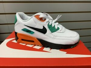 air max 90 nike, Nike Air Max 90 Kids White Green Black