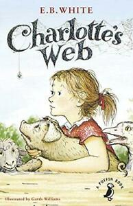Charlotte-039-s-Web-Puffin-Modern-Classics-by-White-E-B-NEW-Book-FREE-amp-Fast