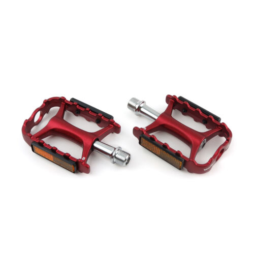 "Wellgo M-111 Aluminum 9//16/"" Mountain MTB Bike Bicycle Cycling Platform Pedals"