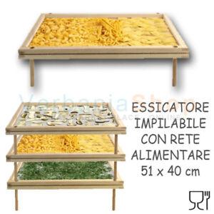 MAX-ESSICATORE-PER-PASTA-GNOCCHI-TORTELLINI-FUNGHI-VEGETALI-52x40-cm-IMPILABILE
