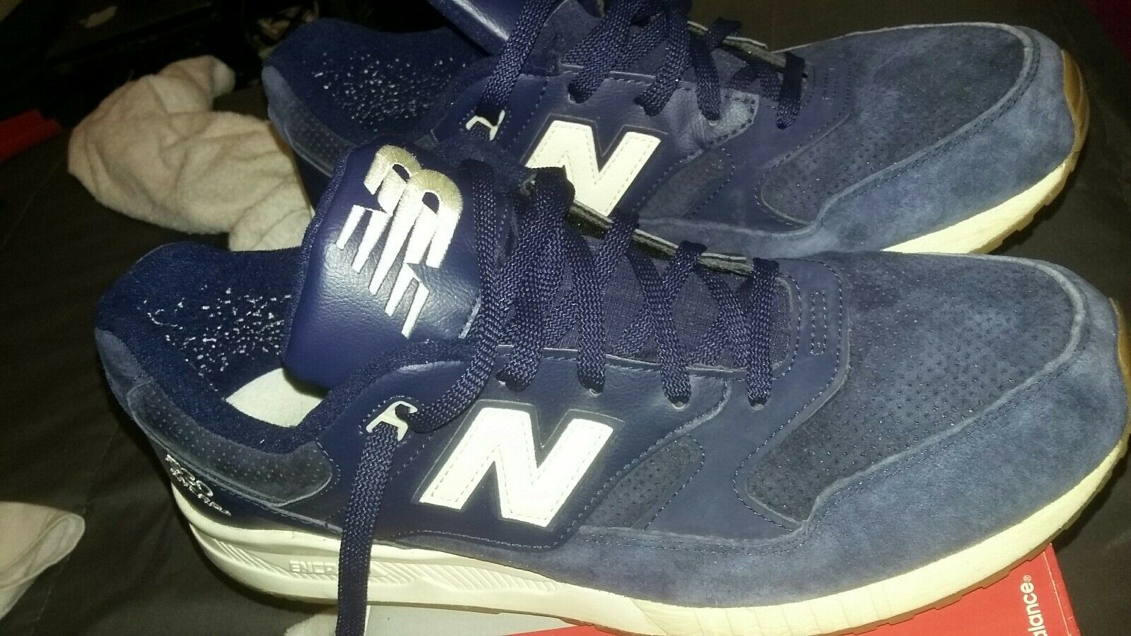 new balance 530 lux suede size 13