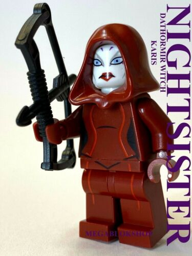 LEGO STAR WARS KARIS DATHOMIR NIGHTSISTER WITCH ASAJJ MOTHER TALZIN ASSASSIN NEW