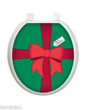 """NEW~GIFT TOILET TATTOO SEAT COVER DECAL SIZE 12"""" x 13.5"""" EASY TO FIX & REUSABLE"""