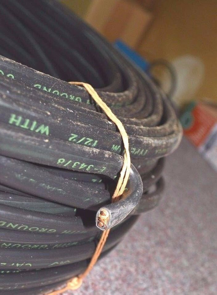CAPEX Cable Wire 500\' 12/2 NM ROMEX Cable with Ground W0039 NOS NEW ...