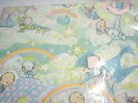 Baby Shower Boy Girl Child Gift Wrap Wrapping Paper Birthday Party Vintage