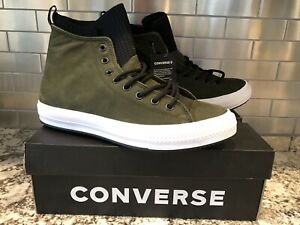 costo Tacón Tomar medicina  Converse Chuck Taylor All Star WP Boot High Top Utility Green 162408C Size  9 | eBay