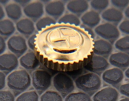 NOS New Zenith 85.010 Ø 5.70 mm R 1.20 Chrono Crown Corona 85010 GOLD Genuine