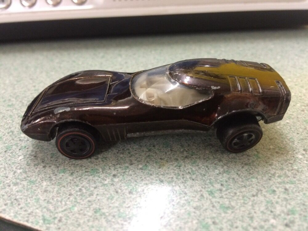 HOT WHEELS rotLINE TORERO IN DARK braun 1968